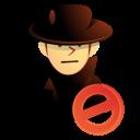 hacker, intruder, thief, user icon