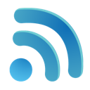 plain, rss icon