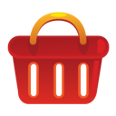ecommerce, shopping basket icon