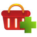 add, ecommerce, shopping basket icon