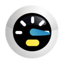 bandwidth, performance, speed, speedometer icon