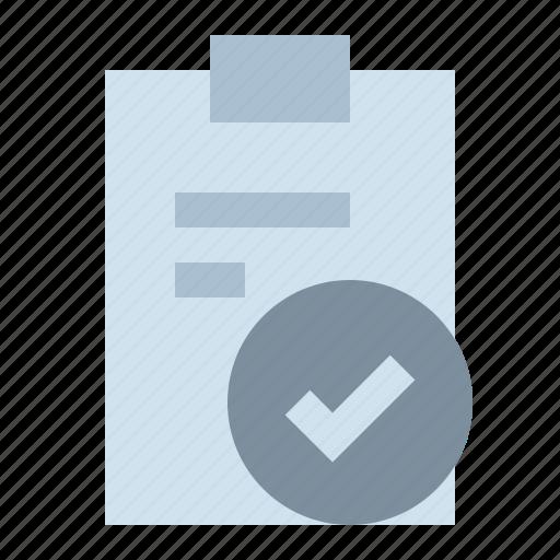 check, checklist, note, task icon