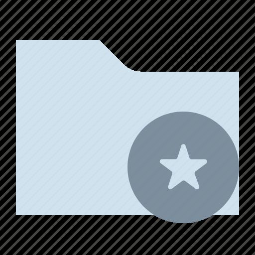 favorite, file, folder, storage icon