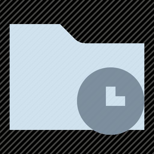 file, folder, history, storage icon