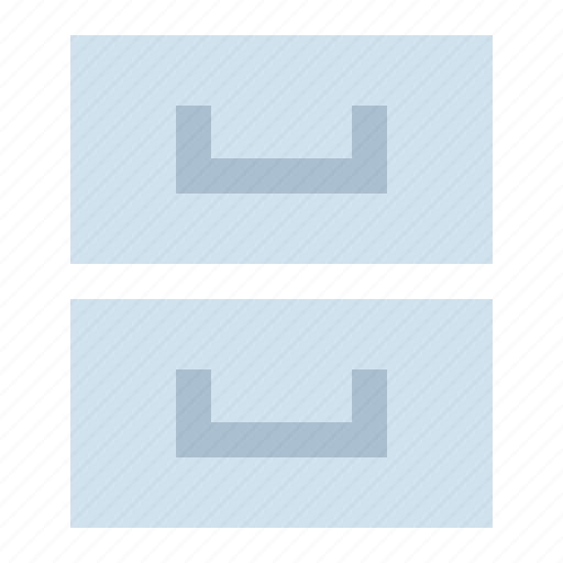 archive, library, storage icon