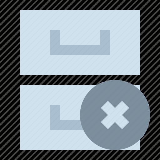 archive, delete, library, storage icon