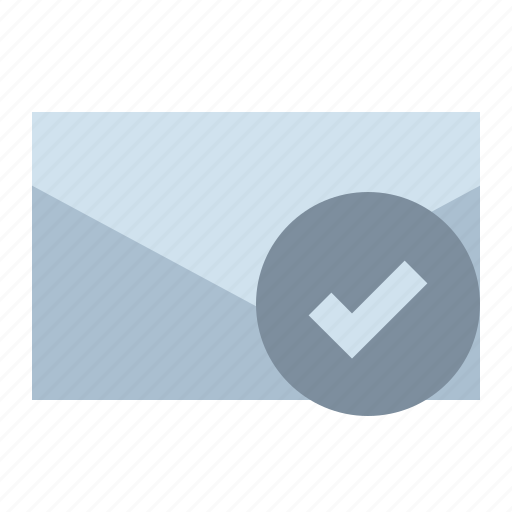 Check, email, letter, mail icon - Download on Iconfinder