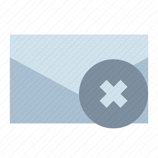 Delete, email, letter, mail icon - Download on Iconfinder