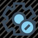 edit, gear, manage, setting icon