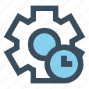 gear, history, manage, setting icon