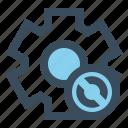 gear, manage, setting, sync icon