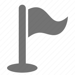 destination, flag, goal, location, marker, pin, pole icon