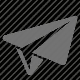 airplane, break, flight, office, paper, plane, relax icon