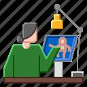 animation, animator, cartoon, character, design icon