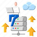 advantage, business, computer, internet, technology icon