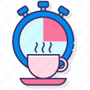 breaks, coffee, cup, regular icon
