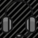 headphones, meeting