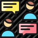 team, chat