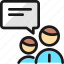 team, meeting, chat
