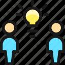 team, share, idea
