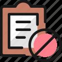 task, list, disable