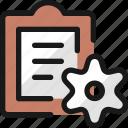 task, list, settings
