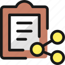 task, list, share