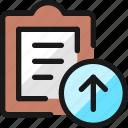 task, list, upload