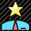 human, resources, employee, star