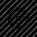arrow, business, finance, target, work icon