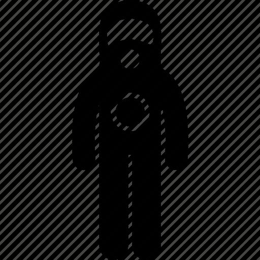 attire, chemical, hazard, protective, radioactive, safety, toxic icon