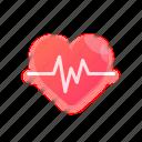 heartbeat, heart, valentine, like, favorite, romance, love
