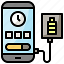 cellphone, mobile, phone, screen, smartphone, technology icon
