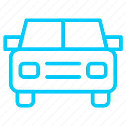 automobile, car, transportations, vehicle icon