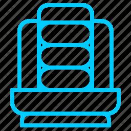 accessories, car, seats, service icon