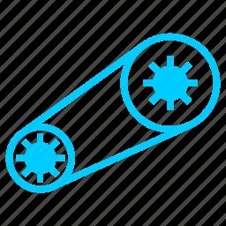 accessories, automobile, chain, vehicle icon