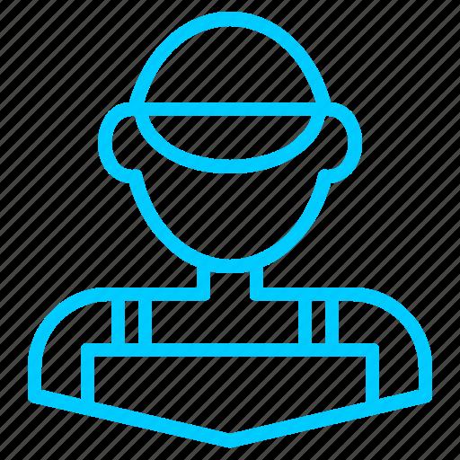 control, driver, mechanics, personal, service icon