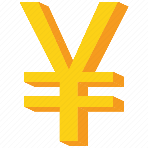 china, chinese, currency, gold, japanese, yen, yuan icon