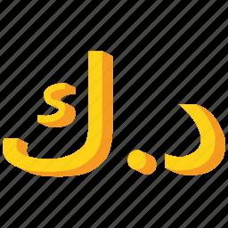 currency, dinar, gold, kuwait, kuwaiti icon