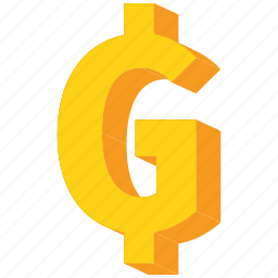 currency, gold, guarani, paraguay, paraguayan icon