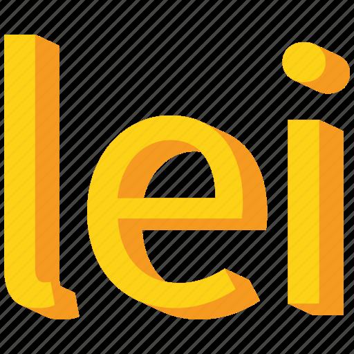 Currency Gold Leu Romania Romanian Icon Icon Search Engine