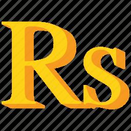 currency, gold, pakistani, rupee, seychellois, srilankan icon