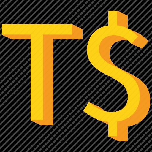 currency, gold, paanga, tonga, tongan icon