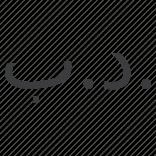 bahrain, bahraini, currency, dinar icon