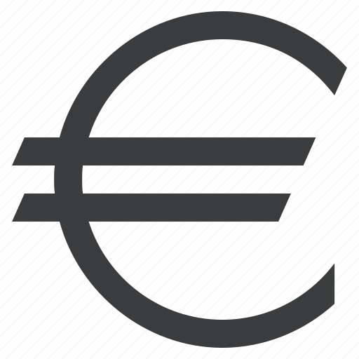 currency, euro, europe, forex, sign, union icon