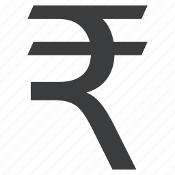 currency, indian, rupee, sign icon