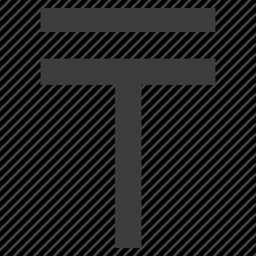 currency, kazakhstan, kazakhstani, tenge icon