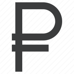 currency, forex, ruble, sign icon