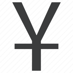 china, chinese, currency, japanese, yen, yuan icon