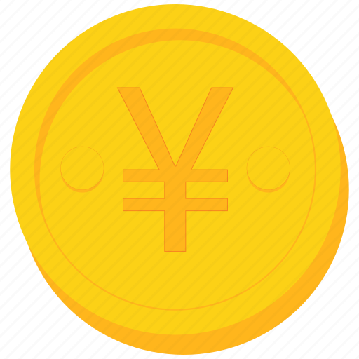 china, chinese, coin, currency, gold, yuan icon